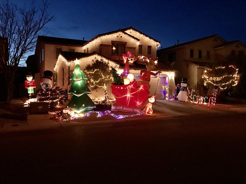 5569 Valley Mill lights